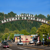 Troutdale Gateway to the Gorge