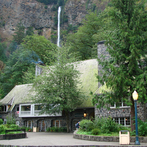 Hood-Gorge_Dine_Under_Multnomah_Falls